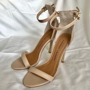 Chinese Laundry ankle strap sandals